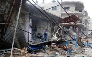 Atac aerian Siria