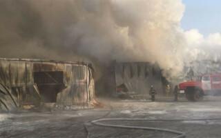 incendiu fabrica rusia