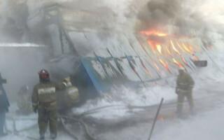 incendiu rusia fabrica