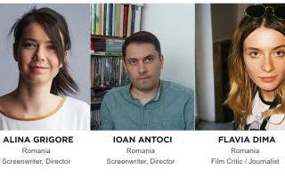 Flavia Dima, Ioan Antoci, Alina Grigore.