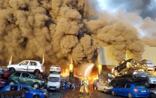 Incendiu în apropierea aeroportului din Dublin