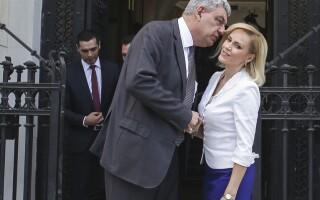 Premierul Mihai Tudose se intalneste cu primarul general al capitalei, Gabriela Firea, la sediul Primariei Capitalei
