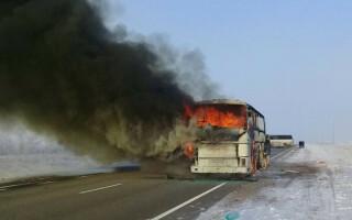 Accident de autobuz cu 52 de morţi, în Kazahstan