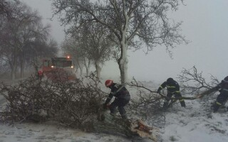 România, sub zăpadă
