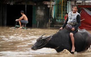 Statul Filipine, afectat de inundații. Sunt 85 de morți