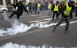protest paris