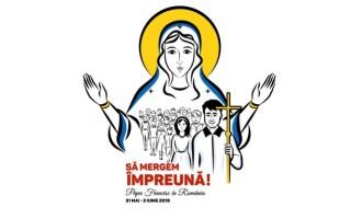 logo vizită Papa Francisc