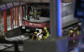 Accident de autobuz la Ottawa