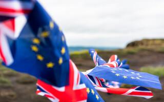 steaguri ale UE şi Marii Britanii