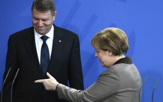 Klaus Iohannis, Angela Merkel
