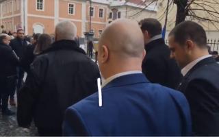 Codrin Stefanescu, Eugen Nicolicea la Sibiu
