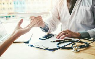 gripa, doctor, pacient