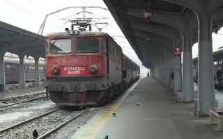 tren, cfr, gheata