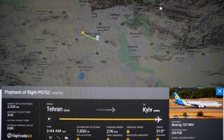 Un avion ucrainean cu 180 de persoane la bord s-a prăbușit în Iran. Toți pasagerii au murit - 1