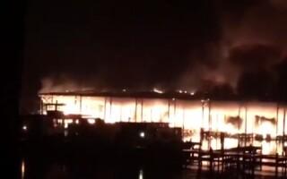 8 morţi într-un incendiu într-un port din SUA: