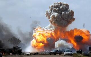 Record de bombe lansate de SUA în Afganistan, în 2019, pe fondul negocierilor de pace cu talibanii