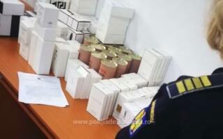 produse contrafacute confiscate