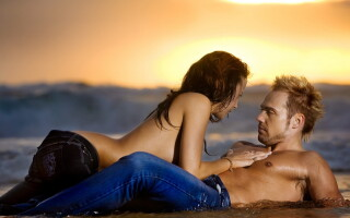 Distractie pe plaja