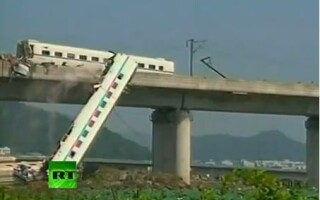 accident tren china
