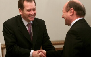 Graham Watson, Traian Basescu