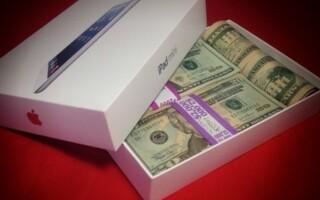 Lavish P, tanar bogat, dolari in cutie de iPad