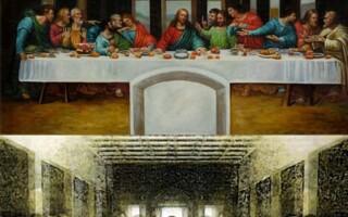 Cina cea de Taina, pictura, da Vinci