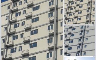 bloc fara usa la balcon