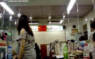Gao Kao elevii invata pe perfuzii