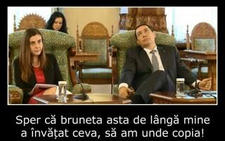 Victor Ponta si Ioana Petrescu, ironizati pe internet