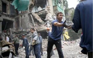 ucraina, atac donetk