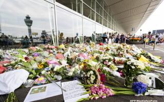 Flori in Olanda pentru victimele cursei MH17 Malaysia Airlines