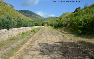 Via Appia, drum roman
