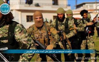 soldati sirieni din frontul al Nusra