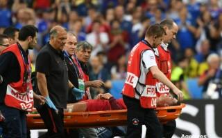 Accidentare Ronaldo