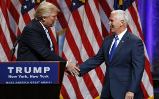 Donald Trump si Mike Pence