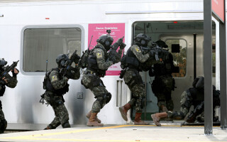 exercitiu antitero in brazilia, getty