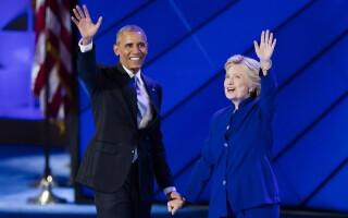hillary clinton si barack obama agerpres