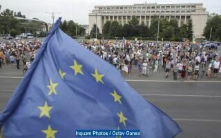 Protest in Capitala fata de coruptie