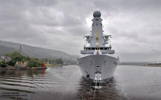 nava britanica HMS Duncan