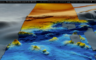 harta ocean indian MH370