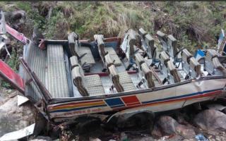 Accident autocar india