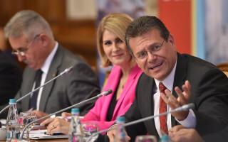 Maros Sefcovic, comisar european, energie,
