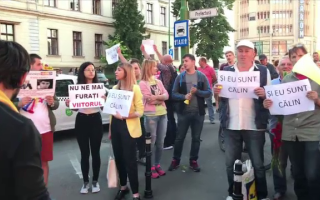 Protest cluj