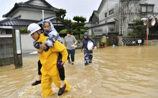 inundatii japonia - 1
