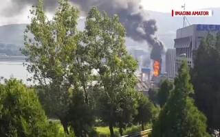 Incendiu la Hidrocentrala Porțile de Fier