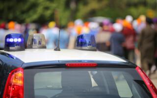 masina de politie in italia