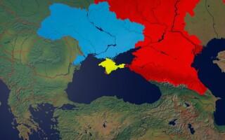 harta Crimeea Ucraina Rusia