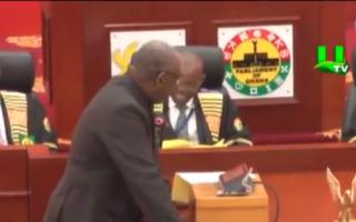 parlamentari din Ghana