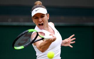 Halep - Zhang la Wimbledon - 10
