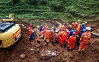 Nou bilanț al alunecărilor de teren din China. Sunt 29 morți și 22 dispăruți - 1